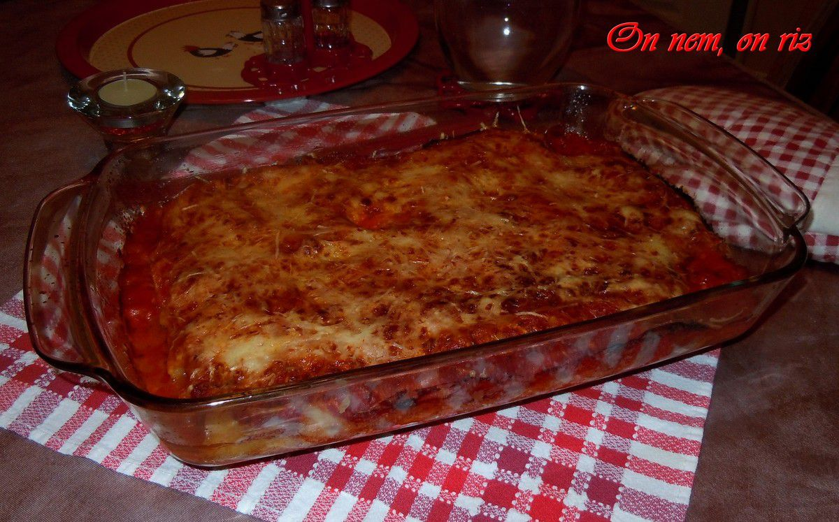 Cannellonis farcis