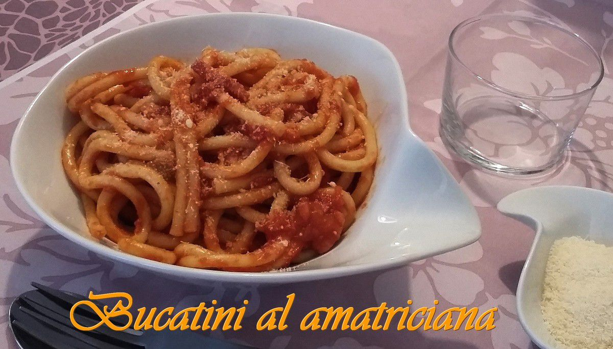 Bucatini al amatriciana