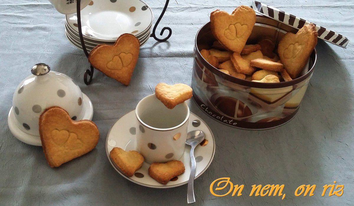 Biscuits à la fève tonka