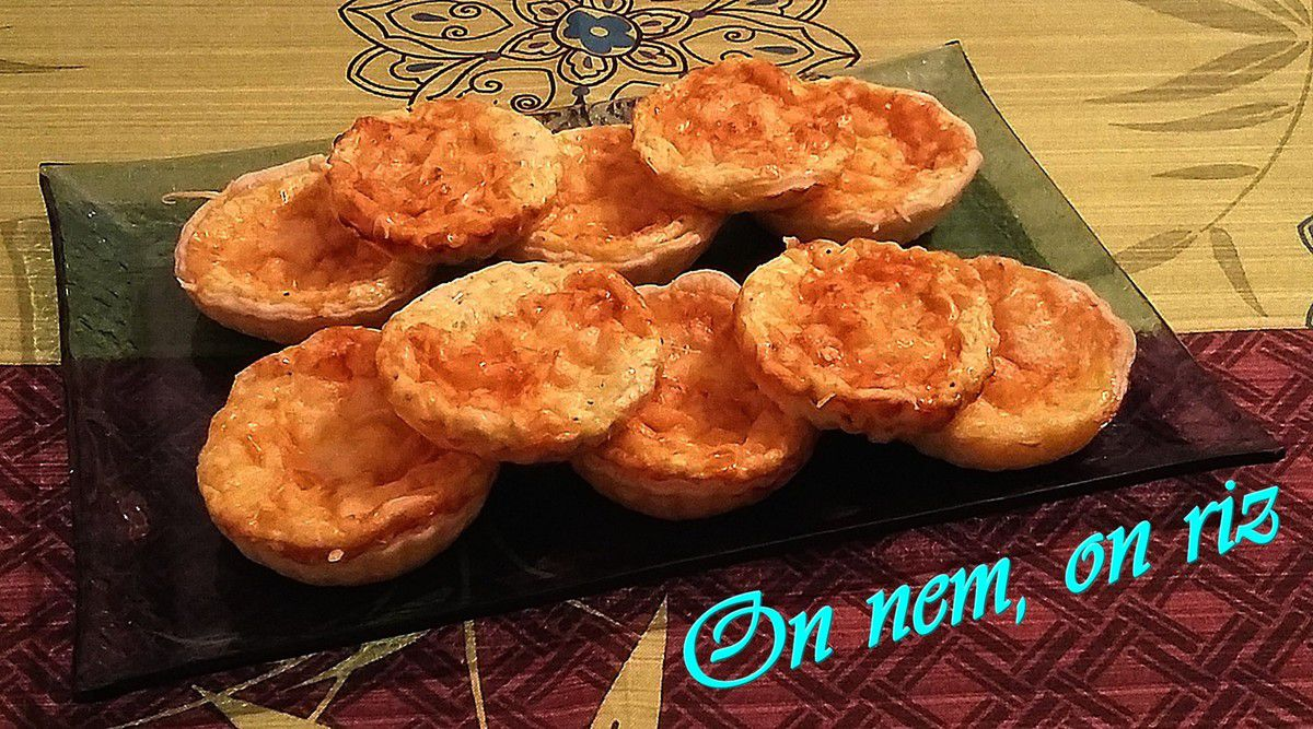 Tartelettes au fromage