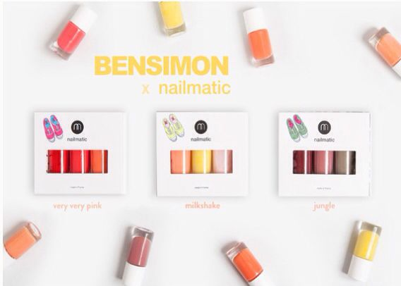 LES BENSIMON X NAILMATIC