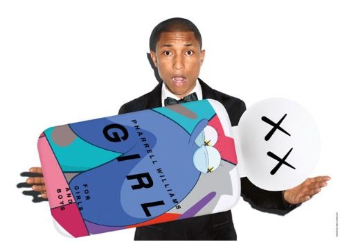 En exclusivité : Girls ,le nouveau parfum de Pharell William
