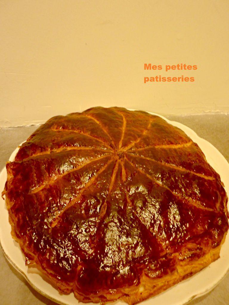 Galette frangipane chocolat praliné