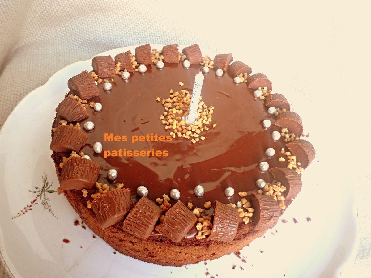 Gâteau d'anniversaire express