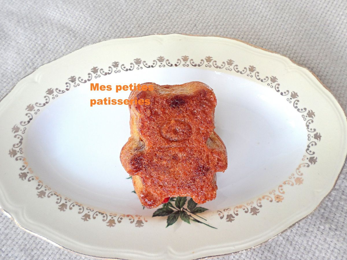Petits gâteaux oursons au speculoos