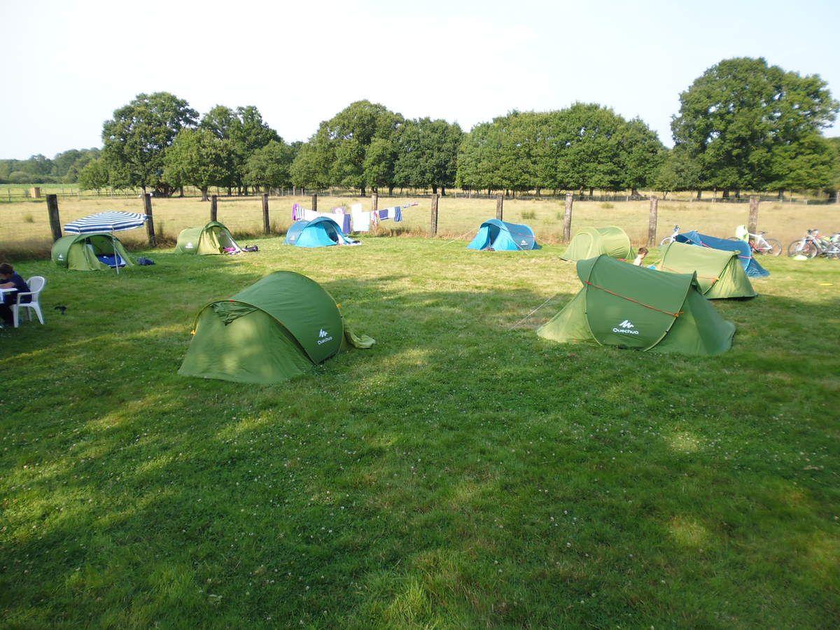 Le camping animé !!!