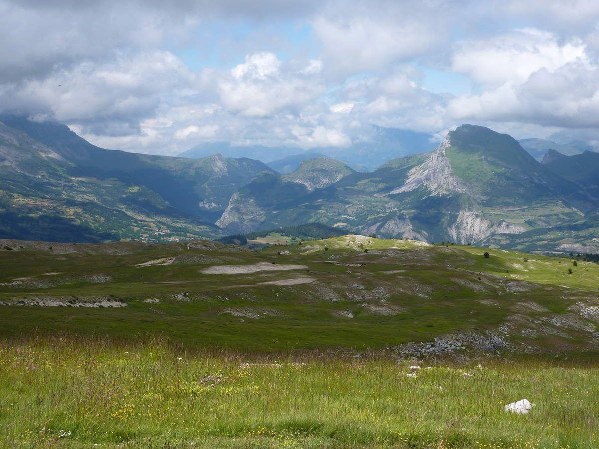 Bike-park du Dévoluy (Hautes-Alpes) juillet 2014