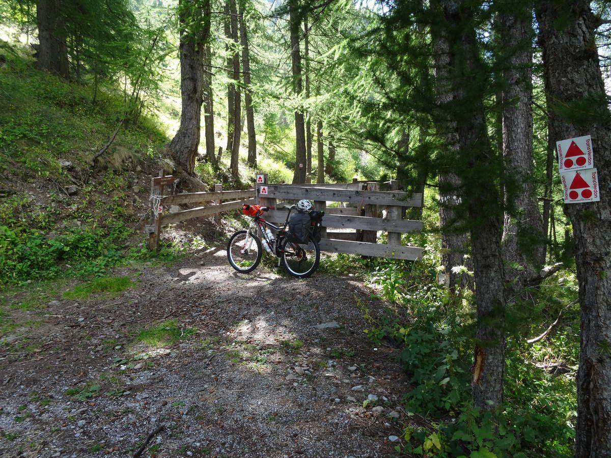 TransVerdon en BUL : Etape n°1 Colmars-Lacs de Lignin (12/09/2014
