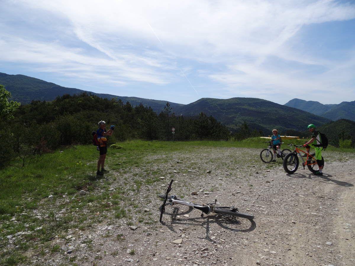 Rando à Saillans (Drôme) avec Nadine et Alain (10/05/2015)