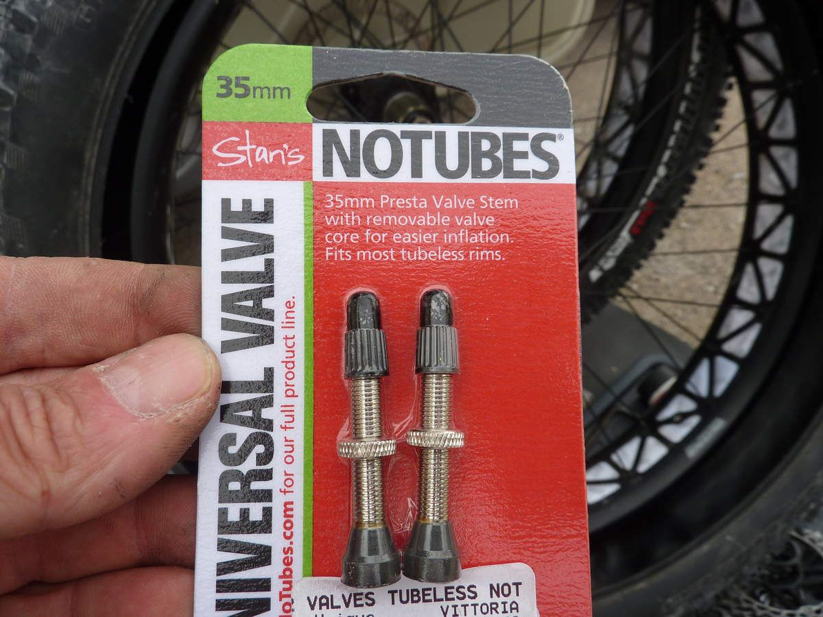 Kit tubeless FAT BIKE (conversion en tubeless du fat bike).