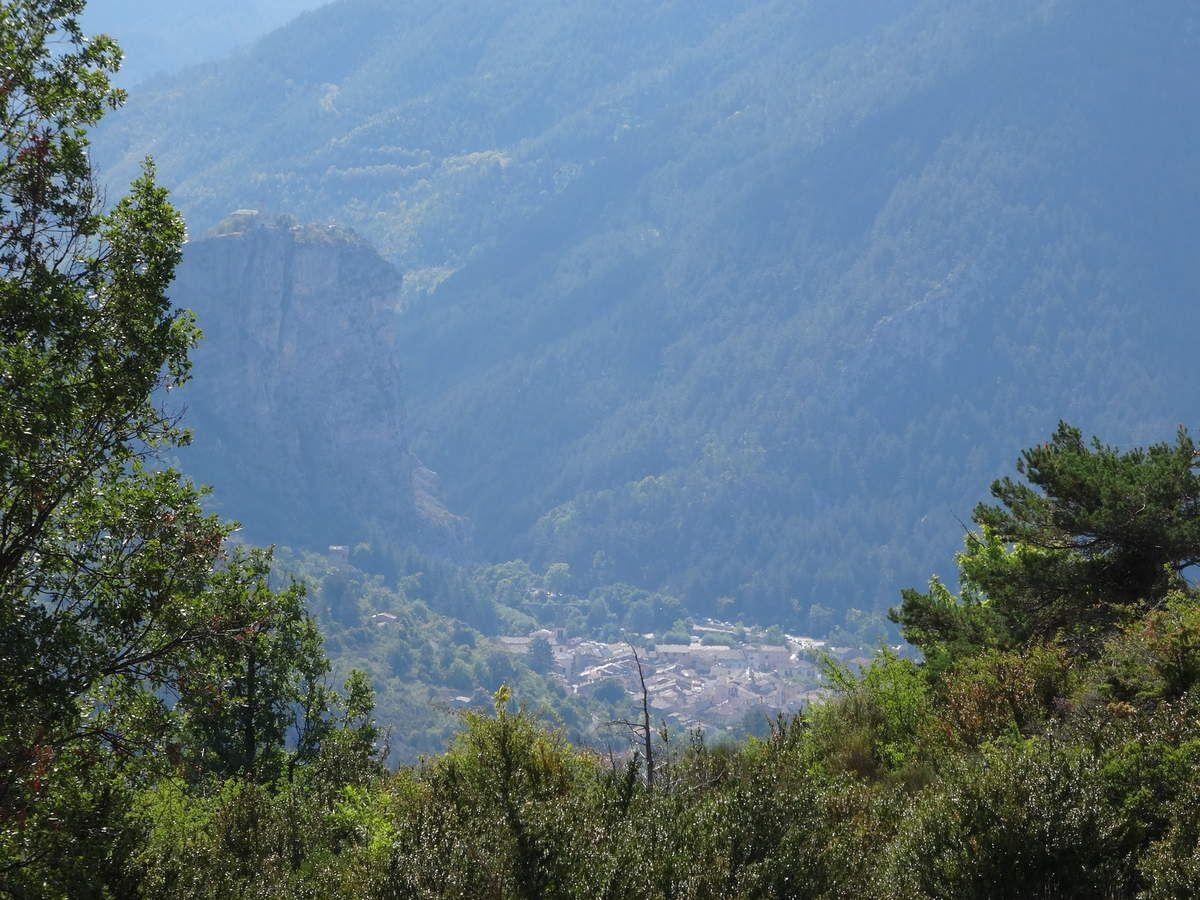 Sur les traces de Napoléon sur le GR406 en BUL : jour 1 (22 Août 2015)