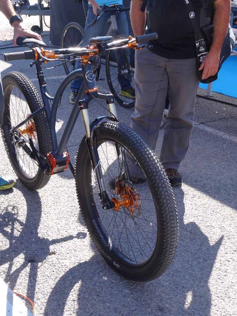 27plus et Fat Bike au Roc d'Azur 2015 par VTT-a-2