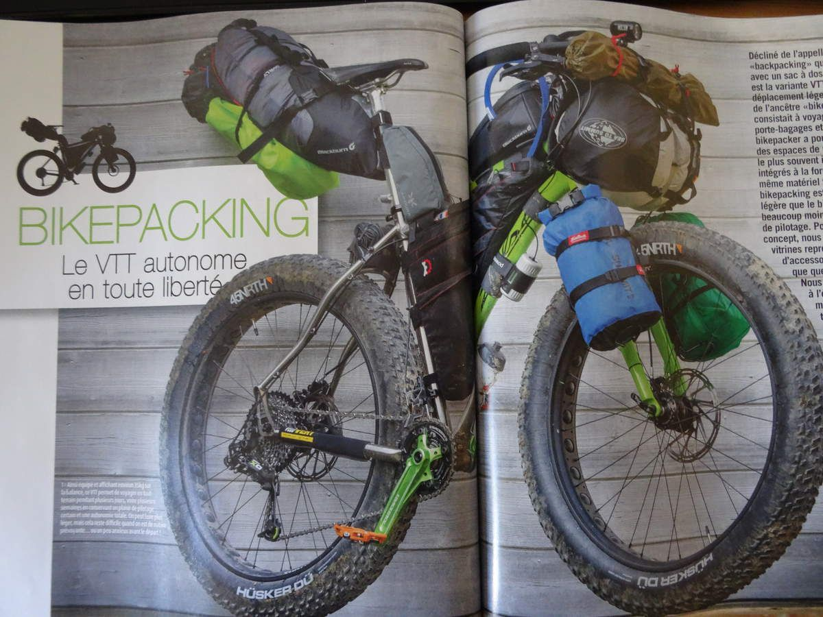 VELO VERT  dossier Bike Parking en FAT BIKE.