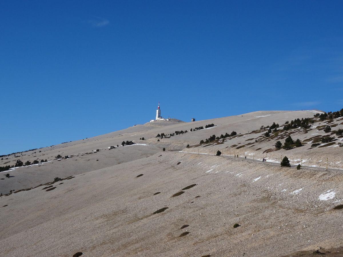 Nos deux Stumpjumper 6 fattie Specialized au Mont Ventoux au départ de Bédoin (27/12/2016)
