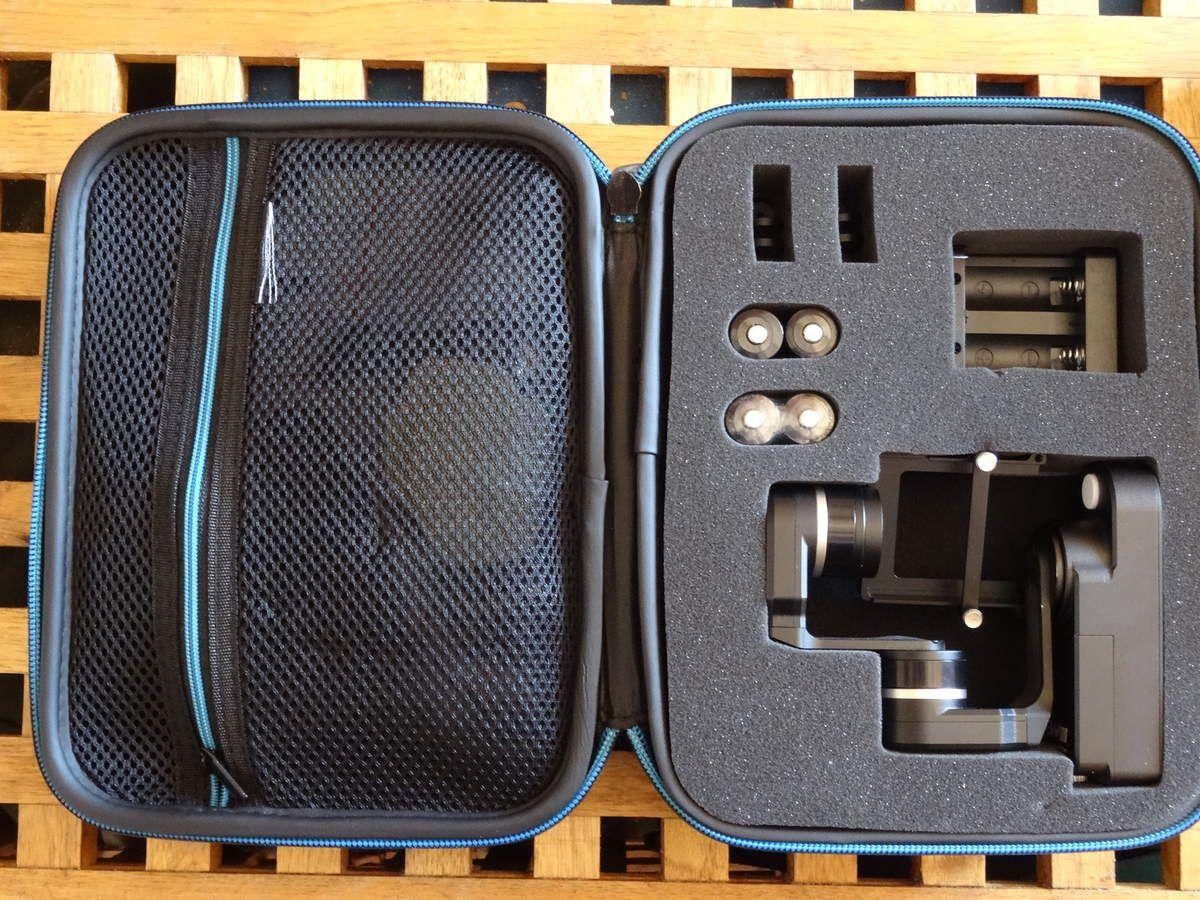 Notre stabilisateur (gimbal) Steadycam Feiyu GW100 pour caméras GoPro et PNJ est arrivé !!