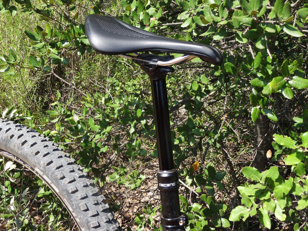 Tige de selle télescopique Brand X Ascend 150mm (par Véro)