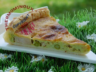 Quiche Poulet Coco Curry Thermomix Blog Cuisine Thermomix Avec