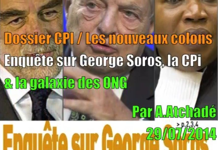 Soros, CPI & ONG : les nouveaux colons