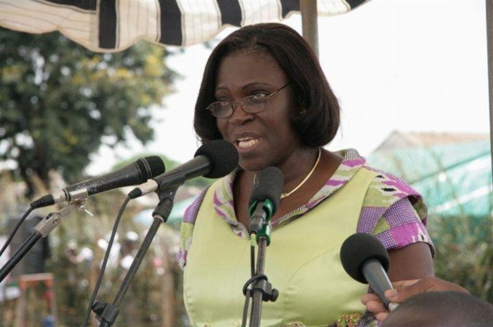 Des femmes réclament la libération de Simone Gbagbo