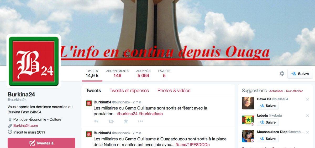 Déjà des morts chez Compaoré ! / Suivez Burkina 24 en continu sur Twitter et Facebook
