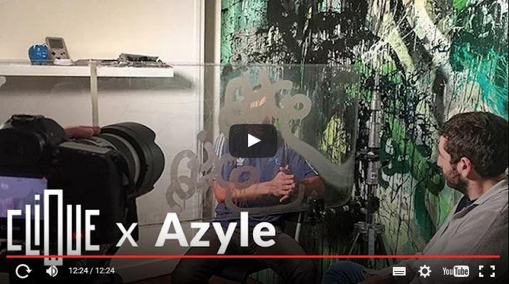 #Azyle a tous les droits (#Graffiti #RATP #Clique 26/09/15)