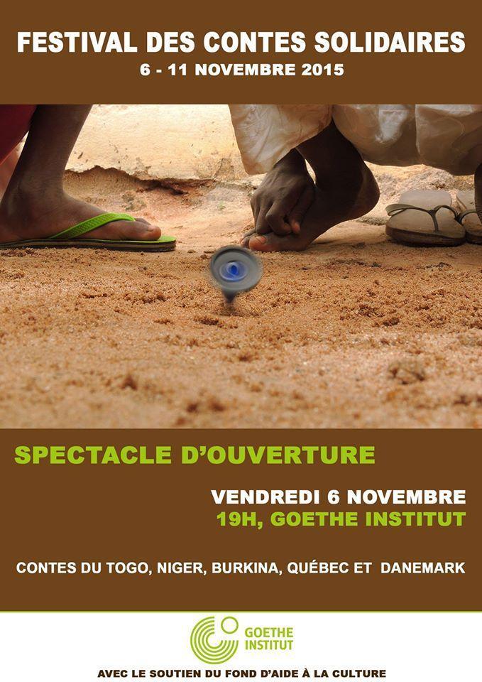 #Togo / A Lomé, Anié et Kara Festival des contes solidaires du 6 au 11 novembre 2015
