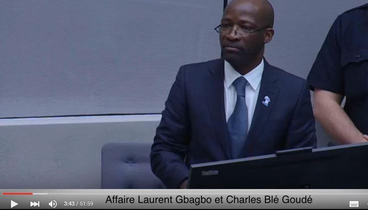 #ProcèsDeLaHonte / Et #BléGoudé prît la parole... (#FreeGbagbo #CPI)