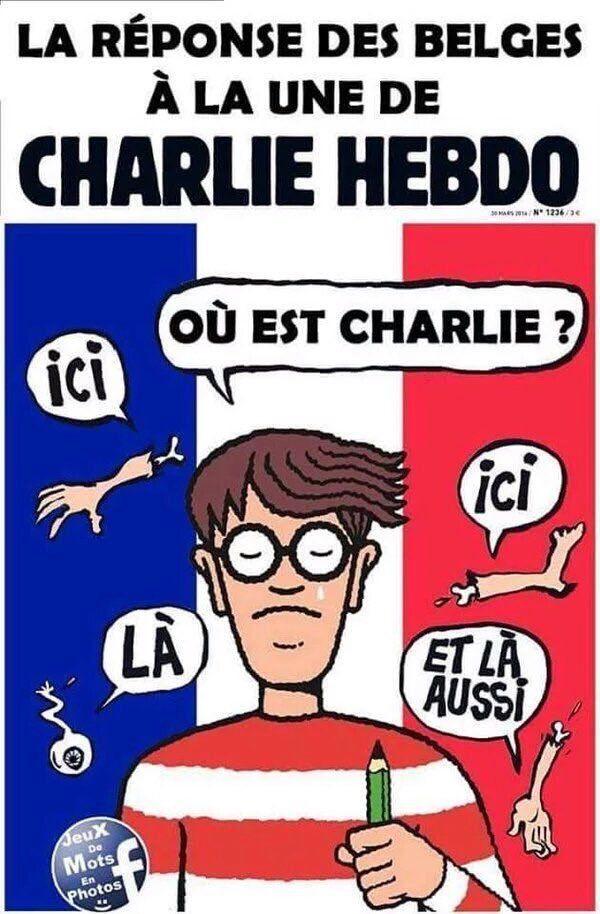 Et les Belges lavèrent les fesses de Charlie...