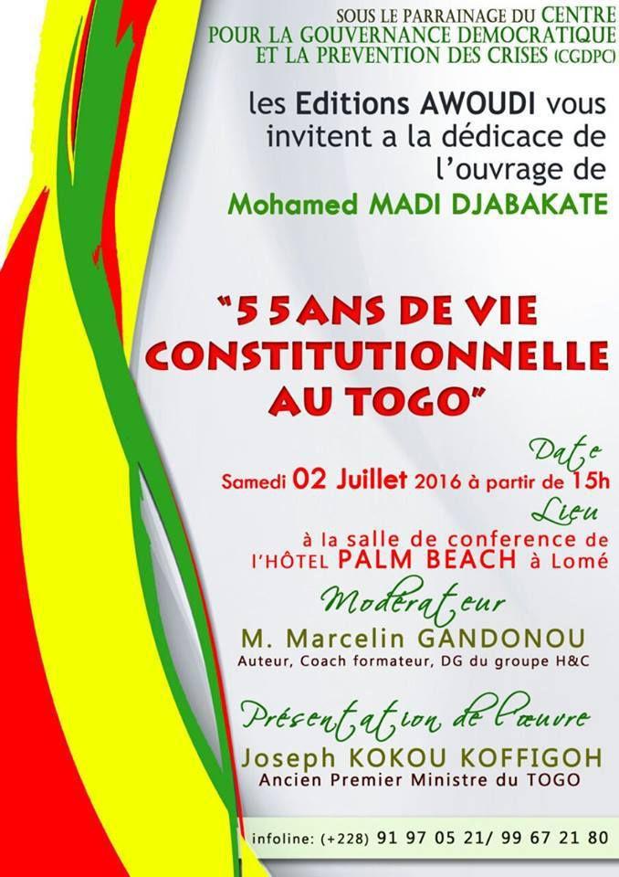 #Togo / Monsieur Djabakaté, ne soyez pas plus malin que les autres, soyez authentique. Par Gnimdéwa Atakpama