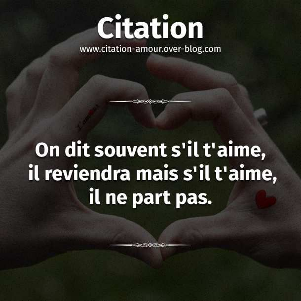 citations sur un amour perdu