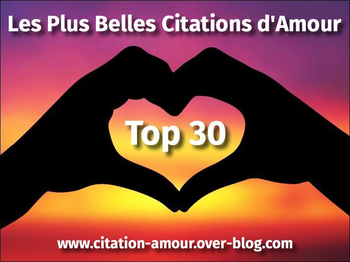 Le Top 30 Des Plus Belles Citations Damour Citation Amour