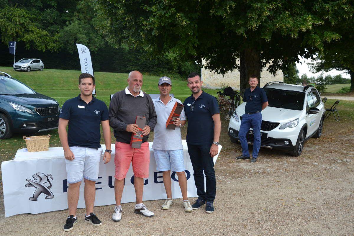 Résultats Peugeot Golf Tour