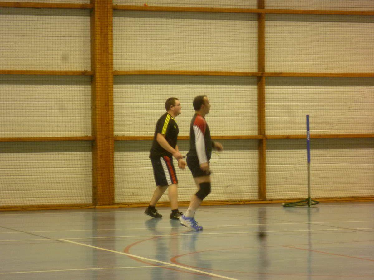 Rencontre de badminton HSL/SIOUVILLE 21.02.14 - Hague Smash Loisirs