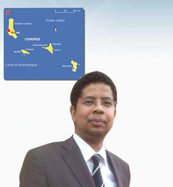 """Darchari MIKIDACHE, économiste, fiscaliste, président du think tank """"Cercle des Economistes et des Experts Comoriens (CEEC)"""