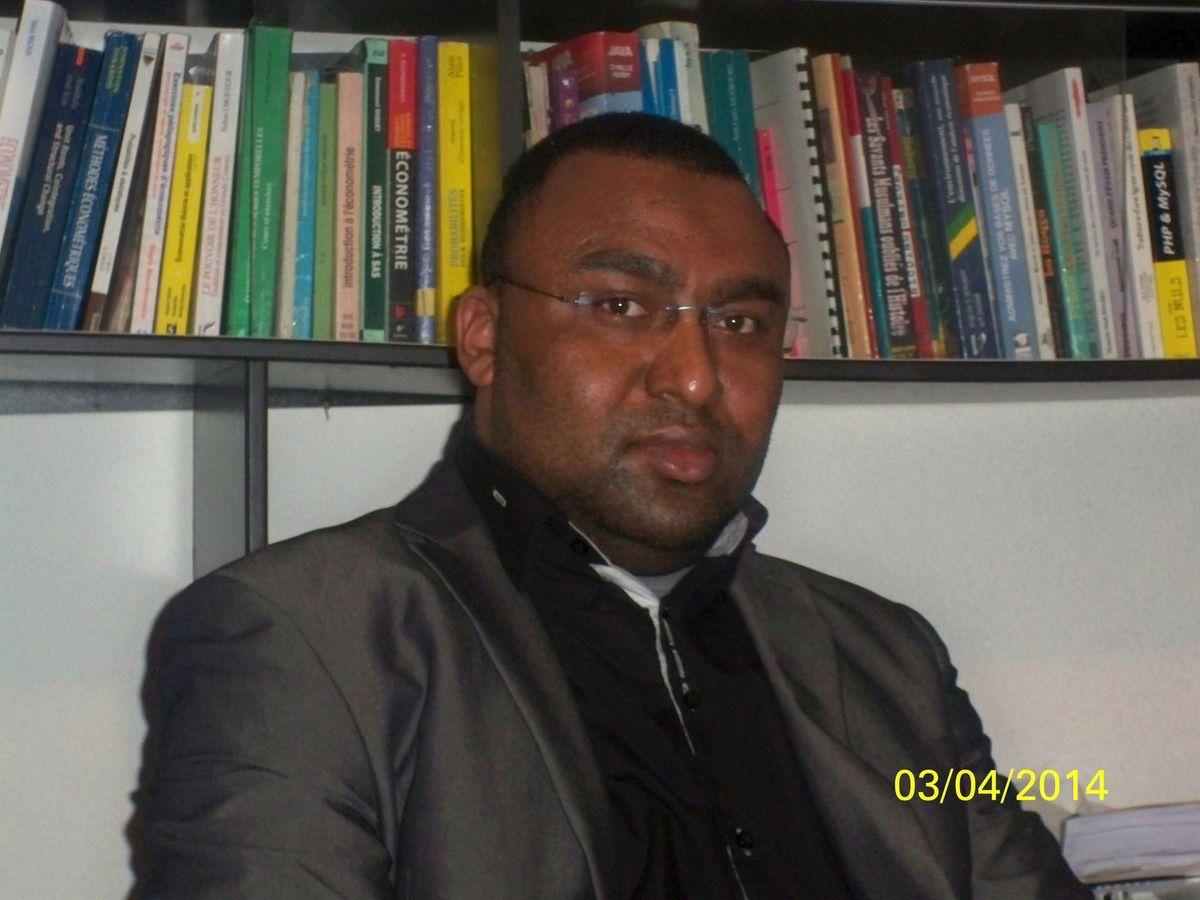 Docteur ABDOU Katibou, enseignant vacataire d'économie à l'Université PARIS I Panthéon-Sorbonne