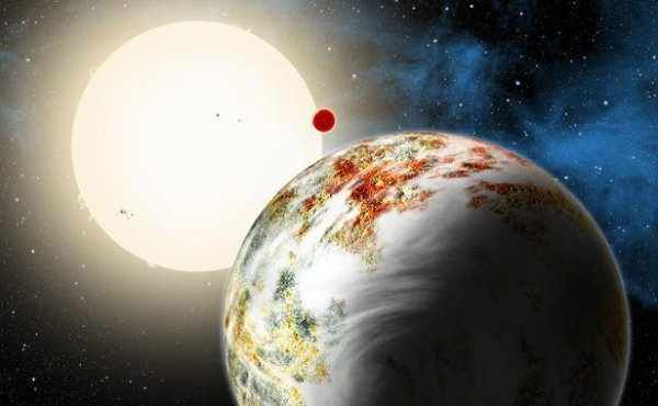 Découverte d'une planète 17 fois plus lourde que la Terre