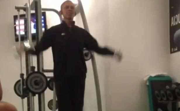 Une vidéo d'Obama en pleine séance de sport inquiète les Américains