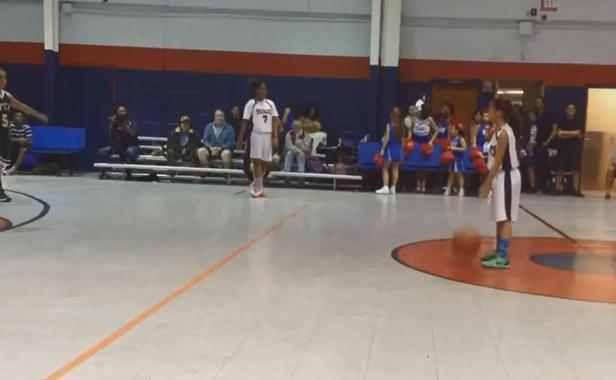 VIDEO. Une basketteuse de neuf ans recrutée par l'Université de Miami