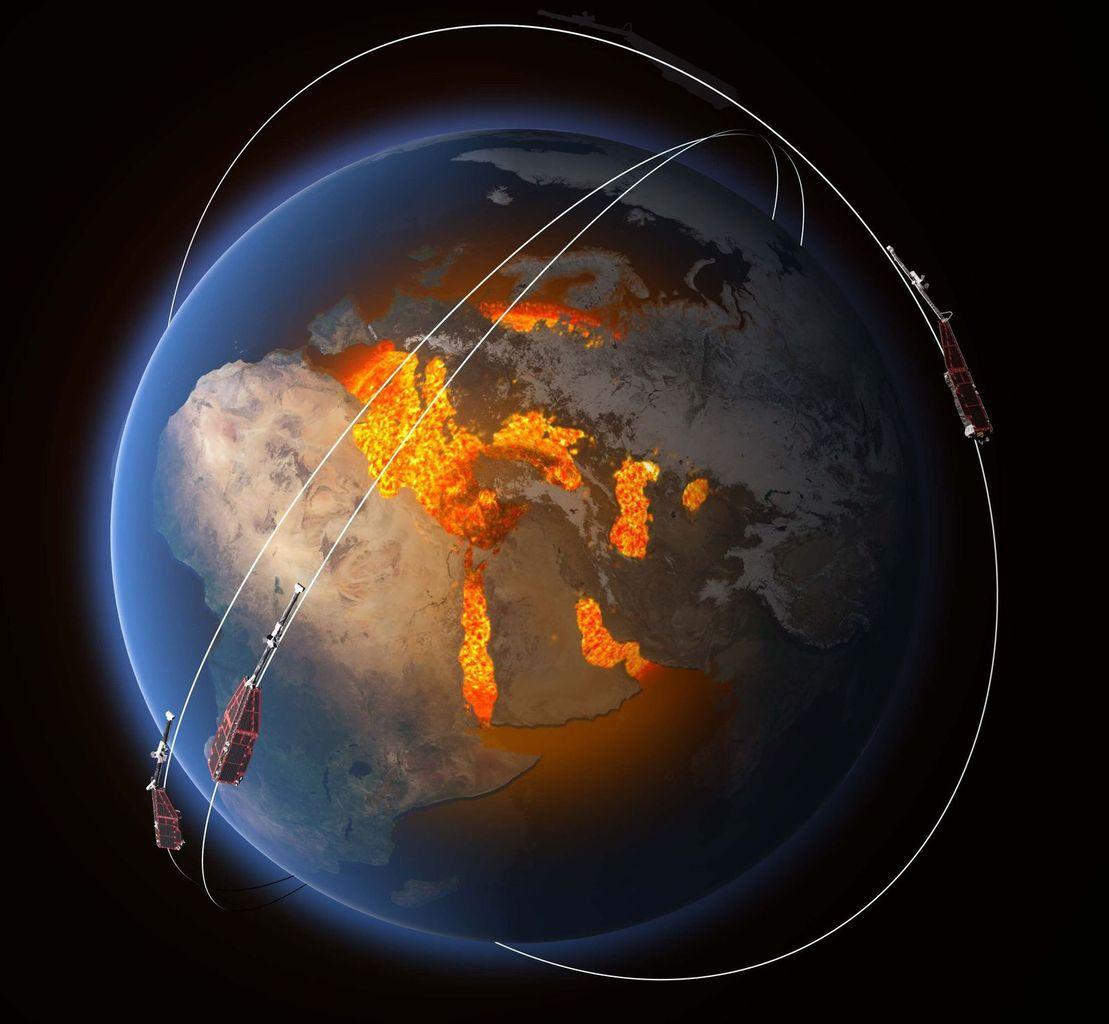 Des fissures auraient été détectées dans le bouclier magnétique qui protège la planète