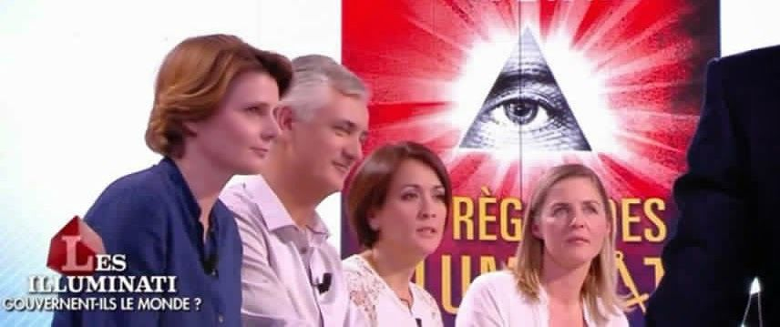VIDEO: Le Grand Journal de Canal + s'intéresse aux illuminatis