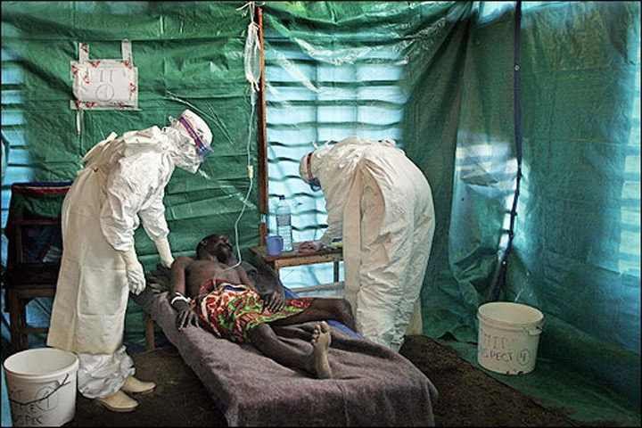 Le virus ébola incontrolable, pourtant, il existe un remède