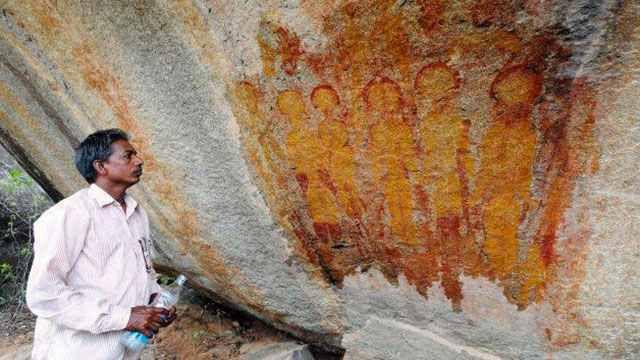 Ces peintures découvertes en Inde représentent-elles des extraterrestres ?