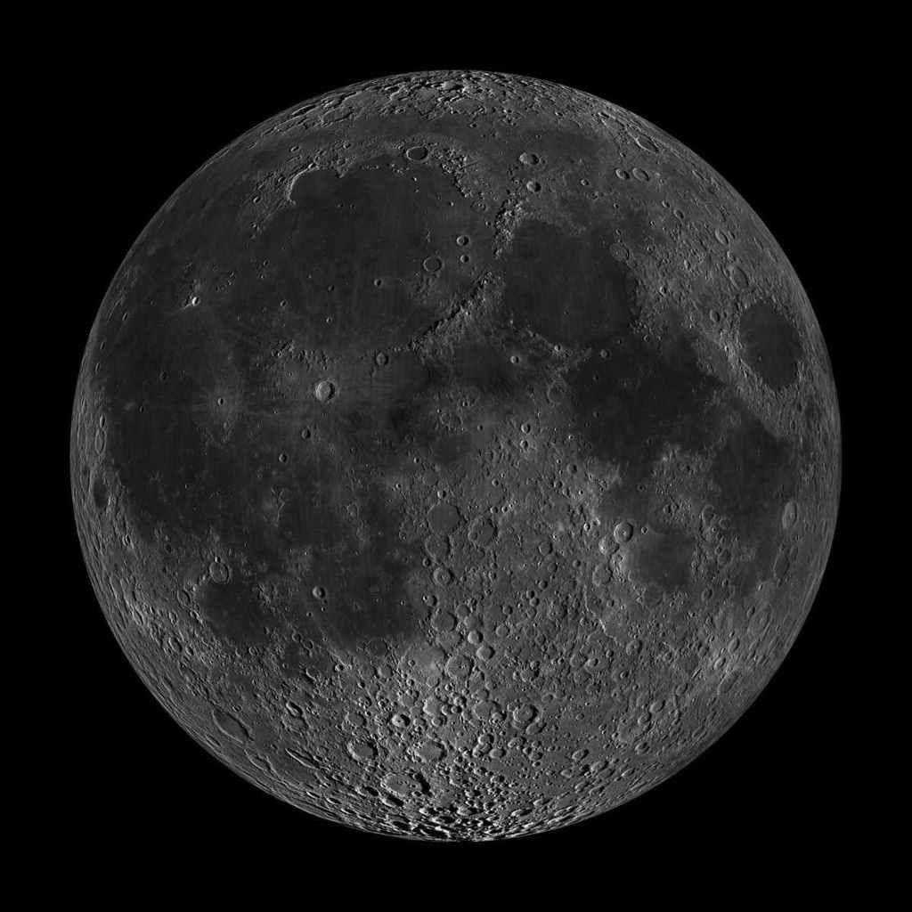 La Lune n'est pas ronde, selon une nouvelle étude