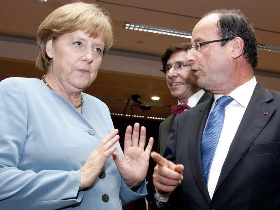 Croissance: Merkel refuse de sauver le soldat Hollande
