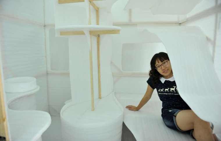 Chine: Un appartement tout confort de 4 mètres carrés à l'étude