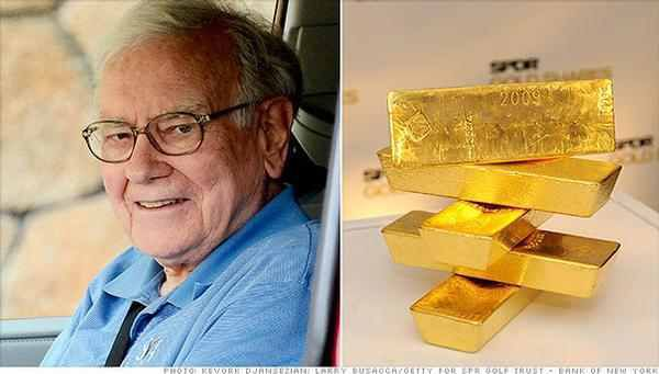 Pourquoi Warren Buffett déteste l'or