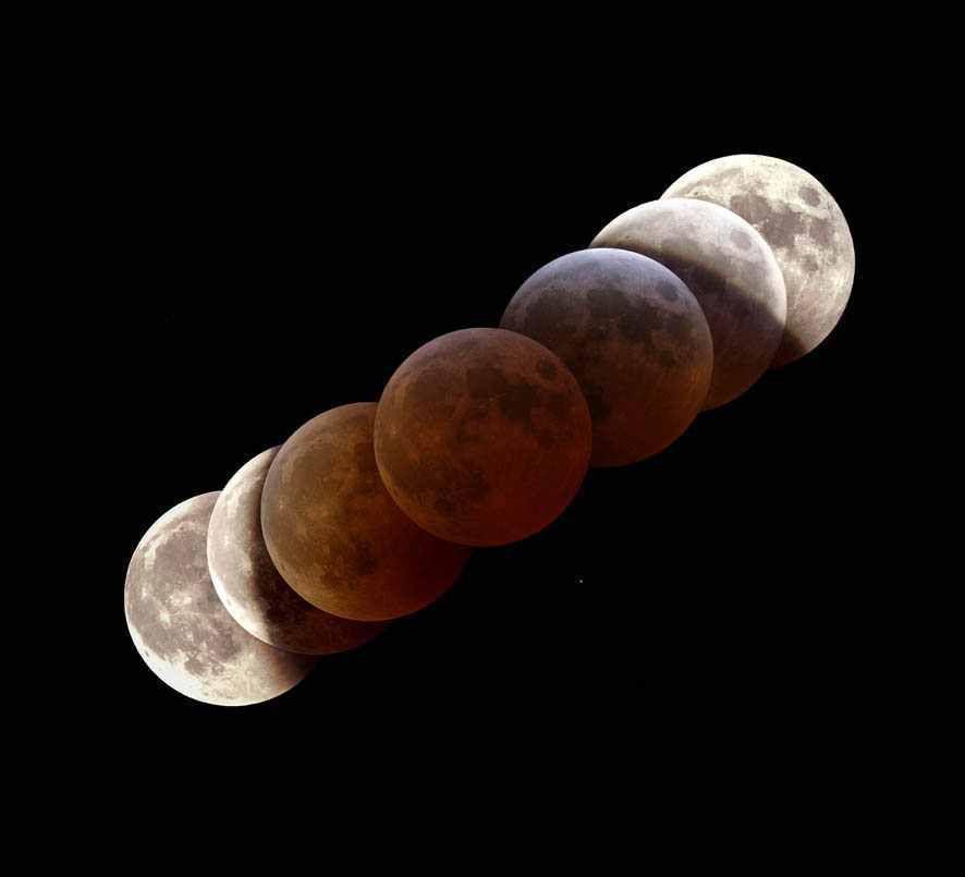 La NASA annonce une éclipse totale de Lune