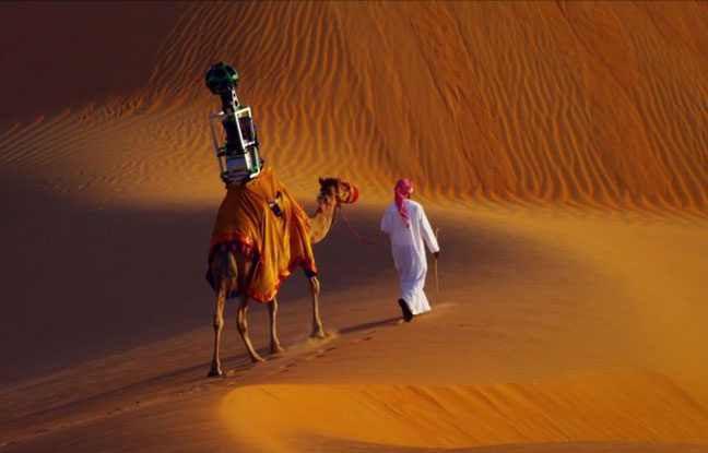 VIDEO. Google Maps engage un dromadaire pour filmer le désert