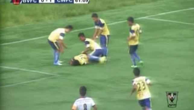 Inde: Le footballeur Peter Biaksangzuala se tue en célébrant son but