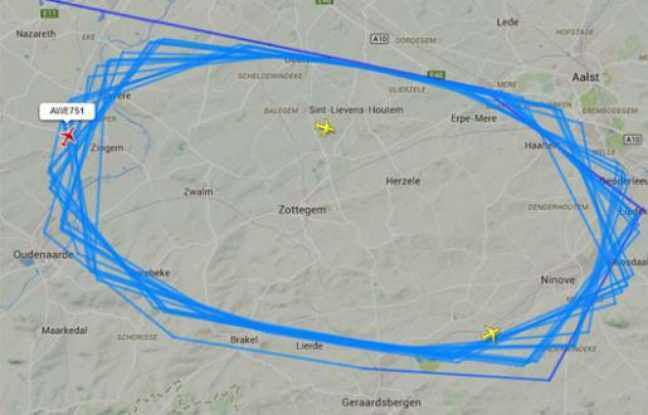 Bruxelles: Ils passent sept heures en avion... et reviennent à leur point de départ